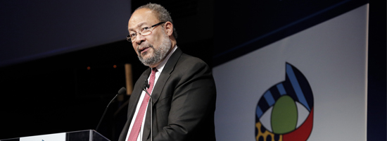 Richard Parsons, guest of the first edition of the conference 'YOUNG FACTOR. Un dialogo tra giovani, economia e finanza.'
